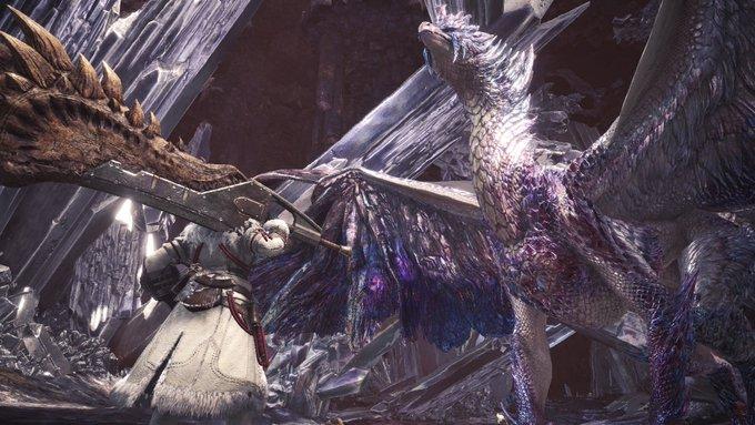歴戦王イヴェルカーナは龍結晶の地に出現